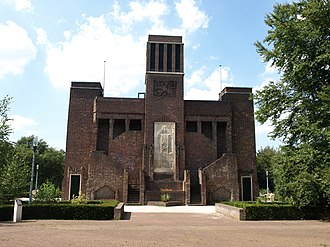 The Netherlands in World War I - Monument built by Belgian POW's near Amersfoort.