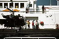 An Alouette III helicopter of the Argentine navy onboard USNS Comfort (T-AH-20) during Operation Desert Storm.JPEG