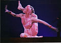 An acrobat performing in the contortion act of Cirque du Soleil's Nouvelle Expérience, 1994.jpg