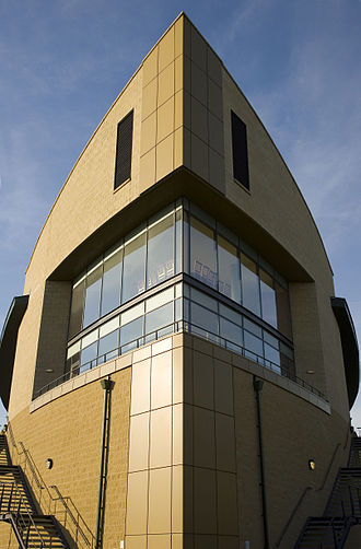Royal Military College of Science - The new Defence Academy building in Shrivenham.