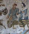 An illustration of Sophie And Gerhard at Castle Burg, Solingen, Germany.png