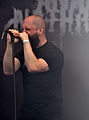 "Anaal Nathrakh, Dave ""V.I.T.R.I.O.L."" Hunt at Party.San Metal Open Air 2013 02.jpg"