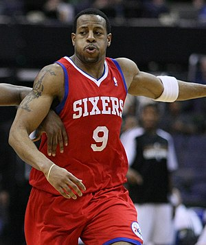 2004 NBA draft - Andre Iguodala, the 9th pick of the Philadelphia 76ers