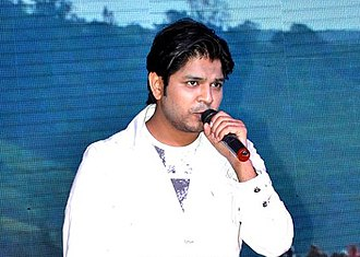 "Ankit Tiwari - Tiwari performing ""Kaisa Hai Dard Mera"" at the audio launch of Kaanchi, 2014"