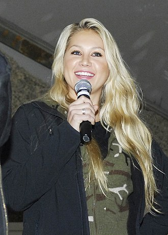 Anna Kournikova - Kournikova at Bagram Air Base during a United Service Organization tour, 2009