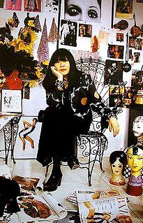 Anna Sui American fashion designer
