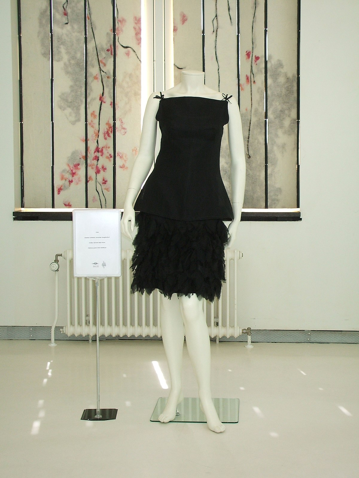 Short black dress h&m