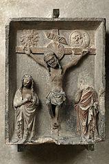 Crucifixion avec la Vierge et saint Jean