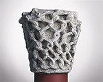 Anonyme toulousain - Chapiteau de colonne simple , Lianes tressées - Musée des Augustins - ME 214 (1).jpg