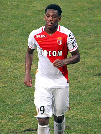 Anthony Martial - Martial playing for AS Monaco in 2015