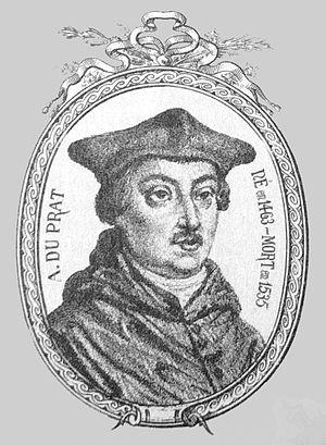1535 in France - Antoine Duprat