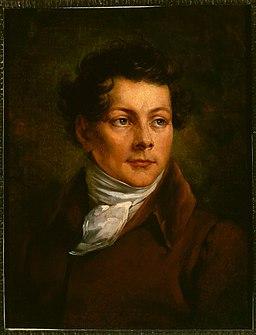 Antoni Brodowski, Portret Karola Brodowskiego, brata artysty