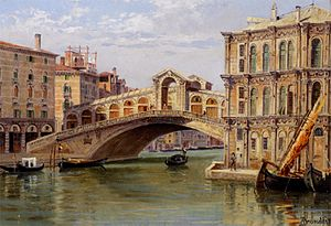 Antonietta Brandeis - The Ponte di Rialto, Venice