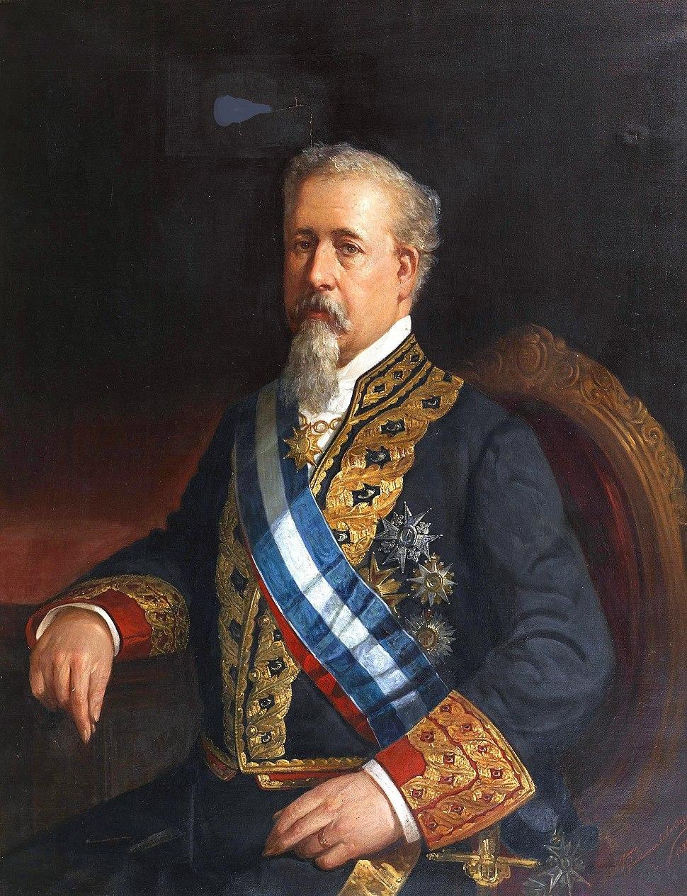 Antonio Romero Ortiz, ministro de Ultramar (Museo del Prado)