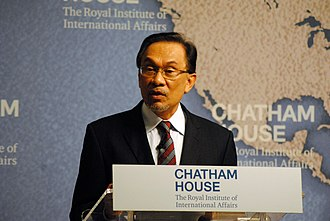 Anwar Ibrahim - Anwar addressed at the Chatham House conference