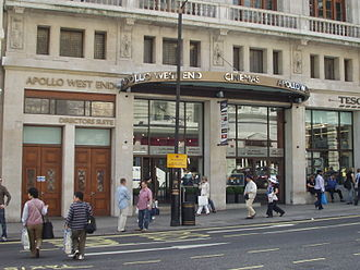 Apollo Cinemas - Apollo Cinemas, Piccadilly Circus, London