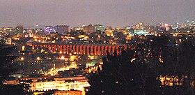 Les célèbres aqueducs d'Arcueil, illuminés la nuit depuis le 7 mars 2009