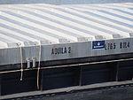 Aquila 2 - ENI 02327601 accessing Zandvlietsluis, Port of Antwerp, pic2.JPG