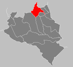 Location of Araure