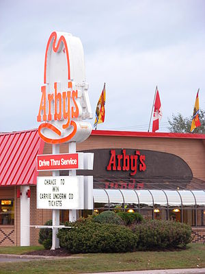 An Arby's in Moncton