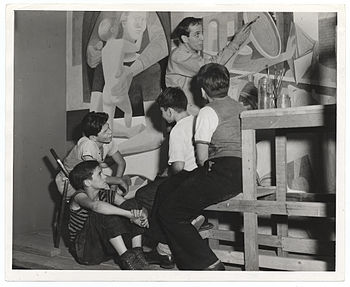 Guston, 1940 Aug. 21 / Sol Libsohn, photograph...