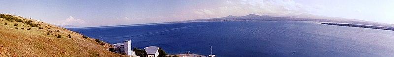 Armenia - Lake Sevan - Panorama 2003.jpg