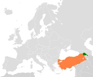 Armenia–Turkey border International border