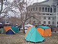 Armenian Presidential Elections 2008 Protest Day 5 - Opera Square tents.jpg
