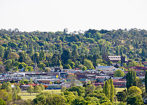 Armidale, New South Wales - Looking across Armidale city