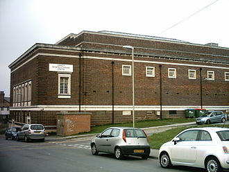 Armley - The former Armley Sports and Leisure Centre