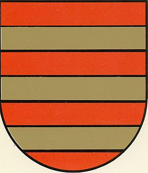Marquess of Gouveia - The Coat of Arms of the Mascarenhas family, who inherited the title of Marquis of Gouveia.