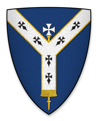 Henry de Loundres - Arms displayed by Henry de Loundres as Archbishop of Dublin, at the signing of Magna Charta