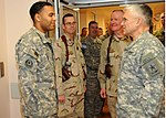Army Chief of Staff, Gen. George W. Casey visit medical center at Kandahar DVIDS352531.jpg