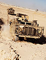 Army Driver Training for New Wolfhound Vehicle at Camp Bastion, Afghanistan MOD 45151969.jpg