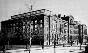 National Museum of Health and Medicine - The Army Medical Museum and Library building  housed the Army Medical Museum from 1887 to 1947  — and again from 1962 to 1969, when the building was razed.