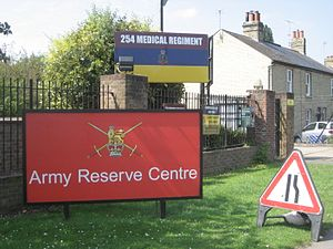 254th Medical Regiment - Regimental Headquarters - Cambridge