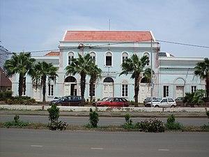 Gamboa, Praia - National Archives building (ANCV)