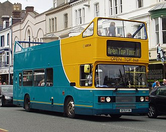 Arriva Buses Wales - Open top Leyland Olympian on tour of Llandudno in 2010