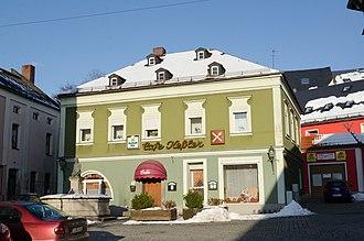 Arzberg, Bavaria - Arzberg market place