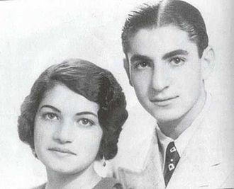 Mohammad Reza Pahlavi - Mohammad Reza with his twin sister, Ashraf