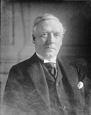 Liberal government, 1905–1915 - Asquith led the Government from 1908. He formed a coalition ministry in 1915 in response to the outbreak of the First World War.