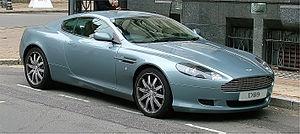 Aston Martin DB9 - Birmingham