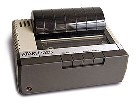Atari 1020 4-color Plotter