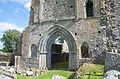 Athassel Priory St. Edmund Choir West Portal 2012 09 05.jpg