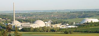 Neckarwestheim Nuclear Power Plant - Nuclear power plant Neckarwestheim