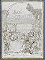 Attribué à TIEPOLO Giovanni Battista - Le repas d'Antoine et de Cléopâtre, INV 5464, Recto.jpg