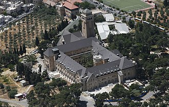 Augusta Victoria Hospital - Augusta Victoria aerial view