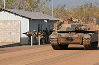 Australia M1 tank training with US Marines Sept 2012.JPG