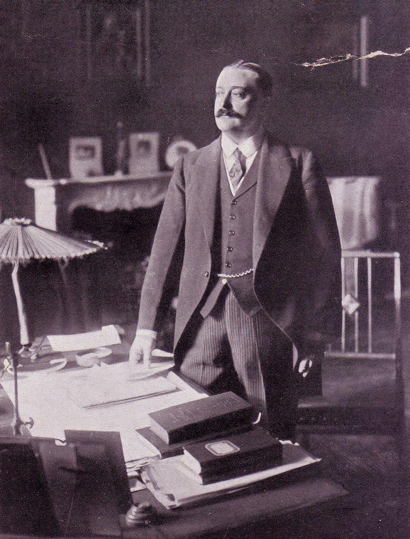 Austrian Embassy Sergievskaya 1914 1a Friedrich von Szapary.jpg