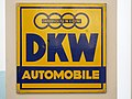 Auto Union DKW Automobile emaille werbeschild.JPG